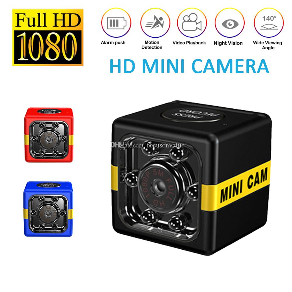 FX01 HD Mini DV Canera 1080P IR night vision Micro video camera Portable motion detection Sports DV Car DVR support TF Card