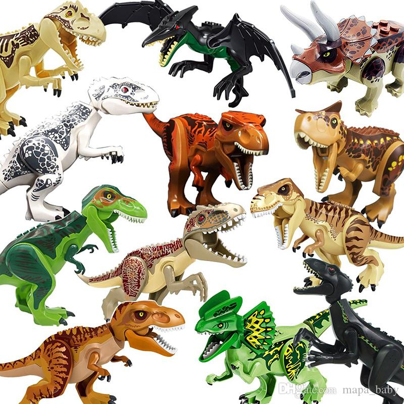 Jurassic Dinosaur Building Blocks Park toy Set Building Block Toy Figure