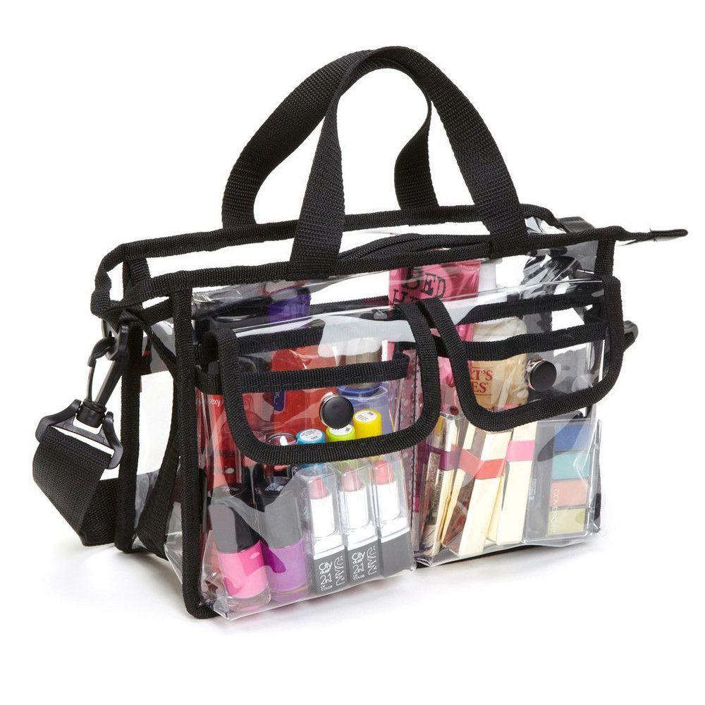 Мода Водонепроницаемый Многофункциональный Макияж сумка красоты Профессиональная Прямоугольная сумка Multiple Карманы Travel Gift Bolsa Cosmeticos HW