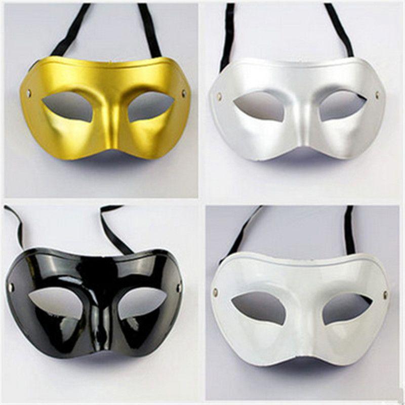 Masques de fête Venice Cut Sculpture Rome Hommes Masque Mascarade Halloween Costumes Vénitiens Masque De Carnaval Pour Balle De Masque 50 Pièces / Set R0618