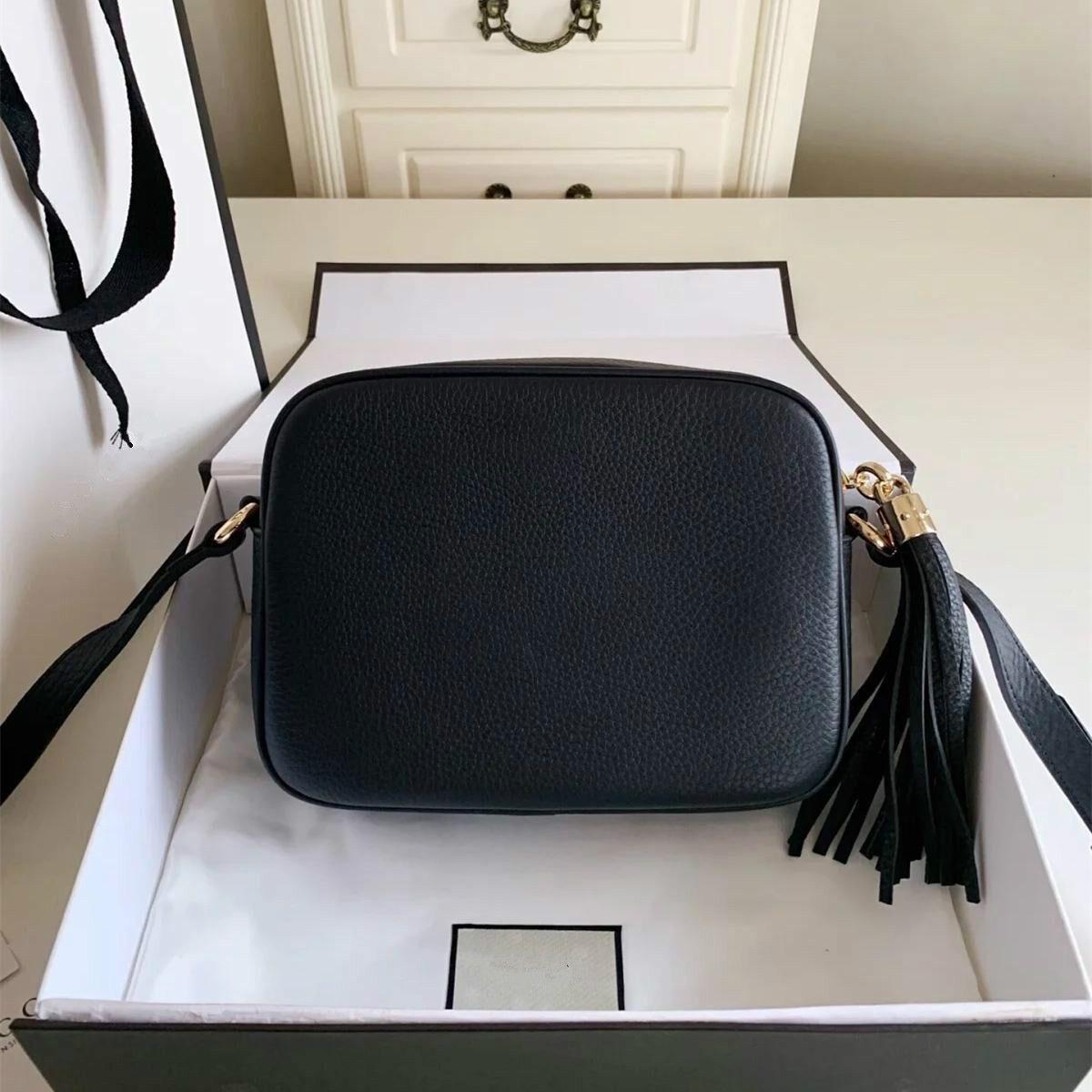 Borsa Moda donne famose del progettista di marca ETS 1921 Borsa a tracolla della nappa SOHO sacchetti delle signore della nappa Litchi Profilo Donne Messenger Bag 308.364
