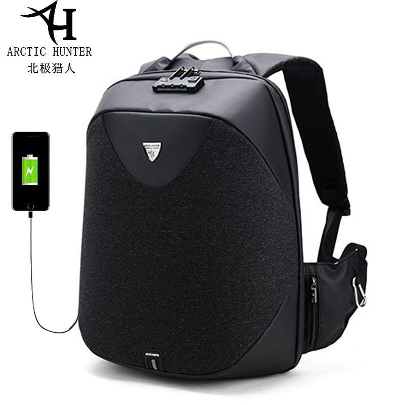 Men 15.6 Laptop Backpack Usb Charging Backpack Anti Theft School Backpack Waterproof Male Mochila Casual Travel Bag New