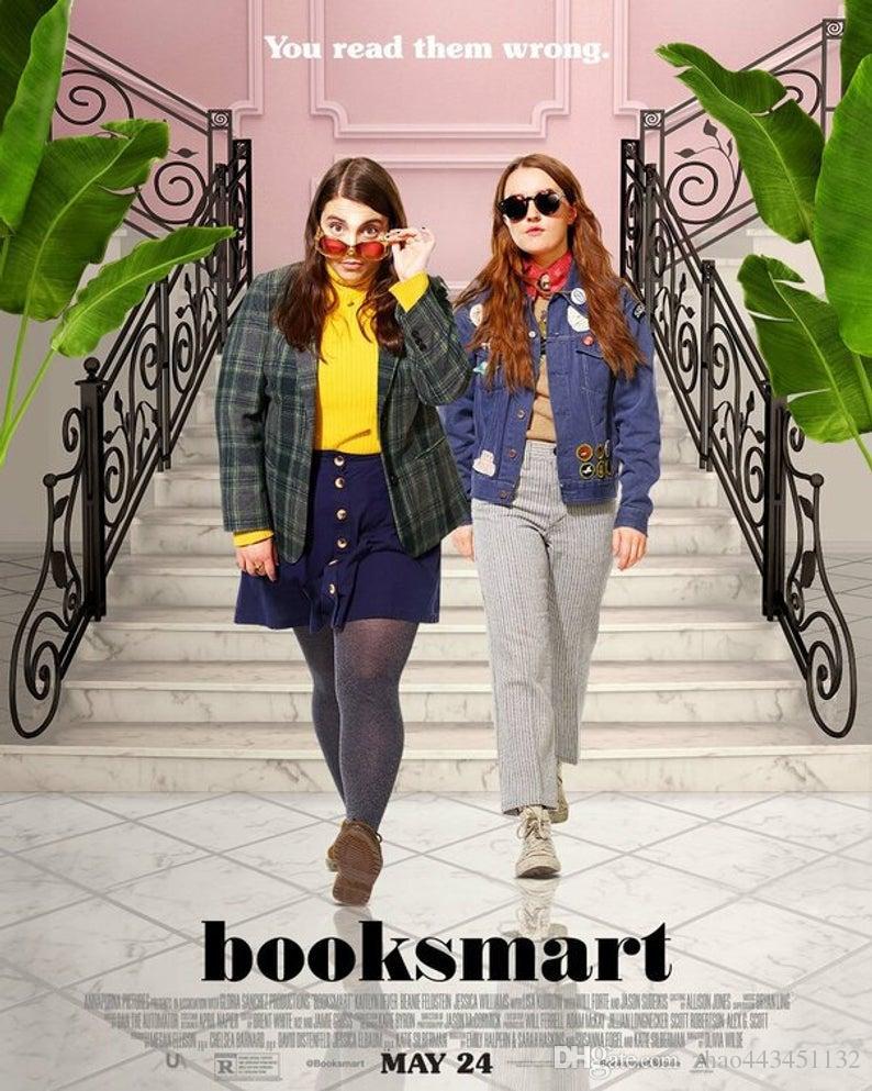 Booksmart poster silk Art new movie