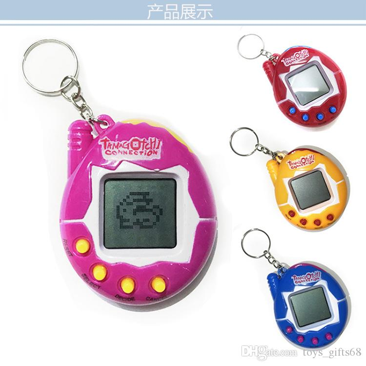 Hot Sale Electronic pet machine Kids Toys Beyblade Christmas Gift Retro Virtual Pets Animals Toys Funny Tamagotchi Kids puzzle mini game