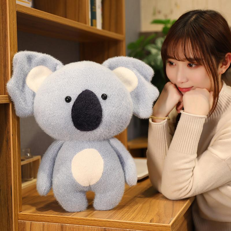 New Cute Koala Plush Toy Koala Bear Stuffed Animals Soft Doll Kids Lovely Gift For Friends Girls Baby Parent-Child Toys