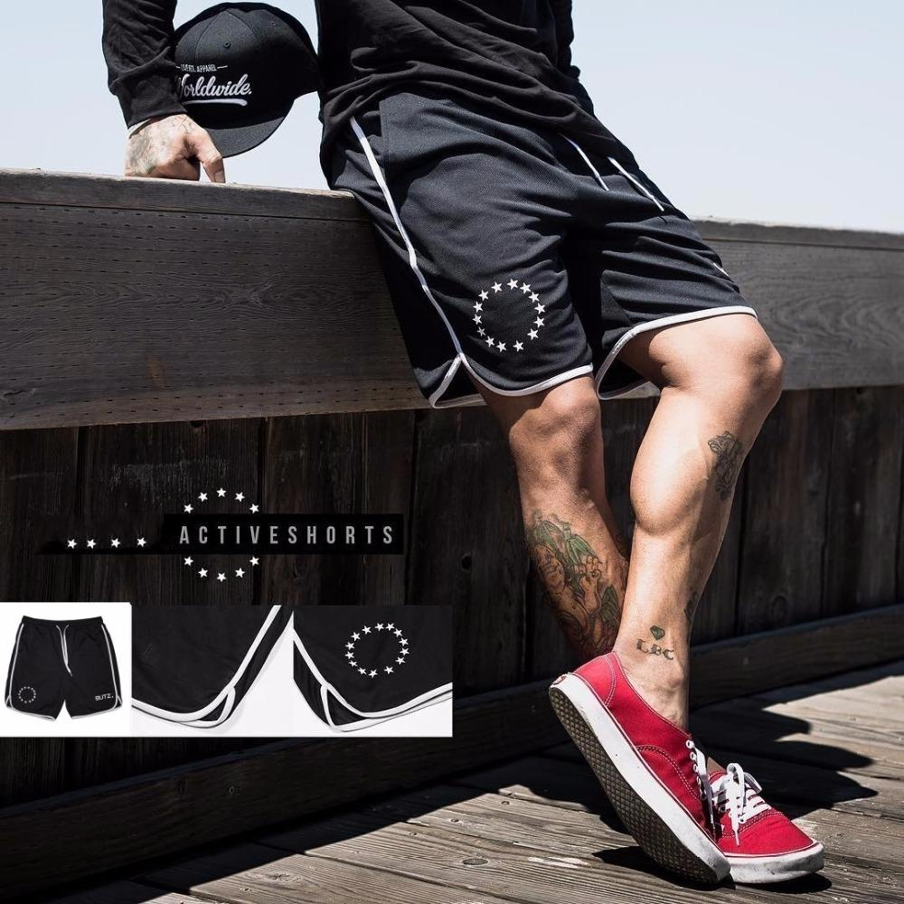 2019 Summer Mens Brand Jogger Sporting Shorts Slimming Men Black Bodybuilding Short Pants Male Fitness Gyms Shorts for workout Y200511