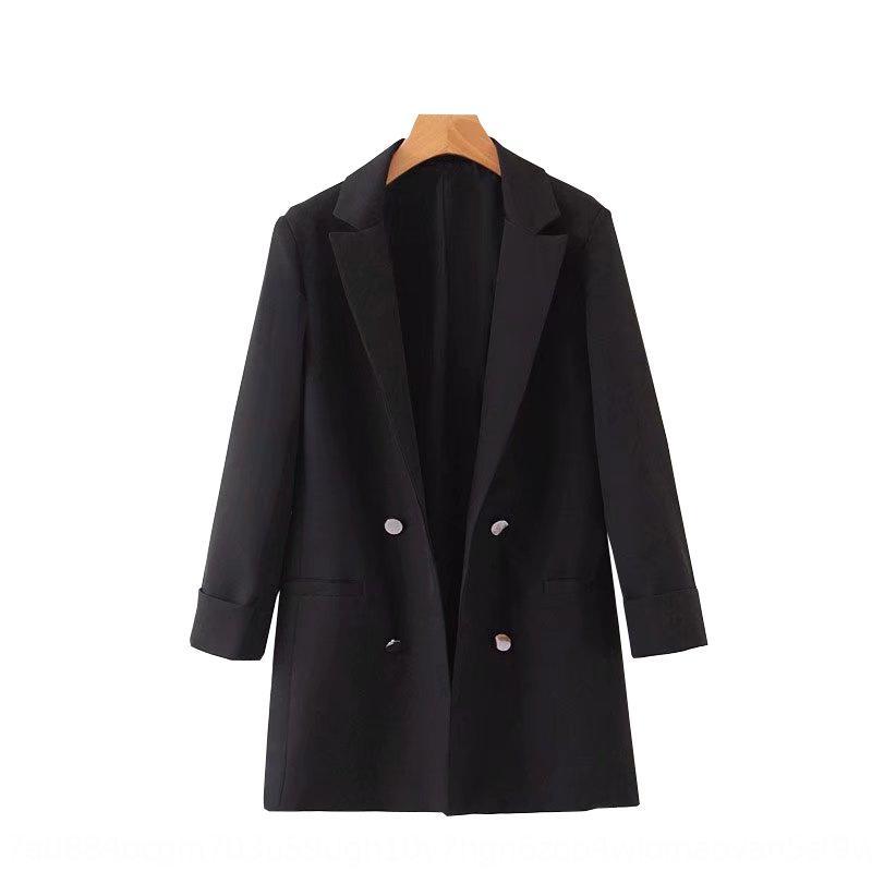 8MZNy bel cappotto della maglia bianca B7-1908 2020 nuovo dimagrante vita cappotto stile della maglia delle donne 24-coreano