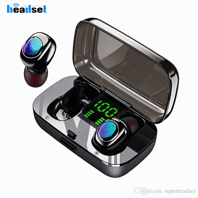 Xg23 Tws Bluetooth Headphones Mini Ipx6 Waterproof Wireless Earphone Screen Touch In Ear Stereo 5 0 Earphones With Charger Box Wireless Headphones For Phone Best Quality Earbuds From Superheadset 7 53 Dhgate Com