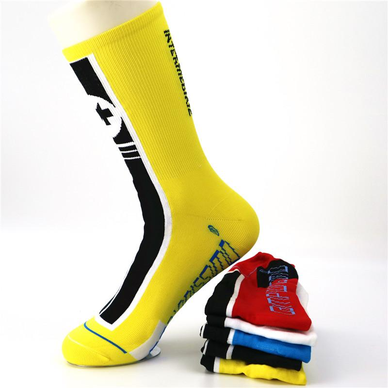 Men's Bicycle Socks Bicycle Running Breathable Sweat-proof Outdoor Sports Basketball Football Hiking Socks Fashion Comfortable
