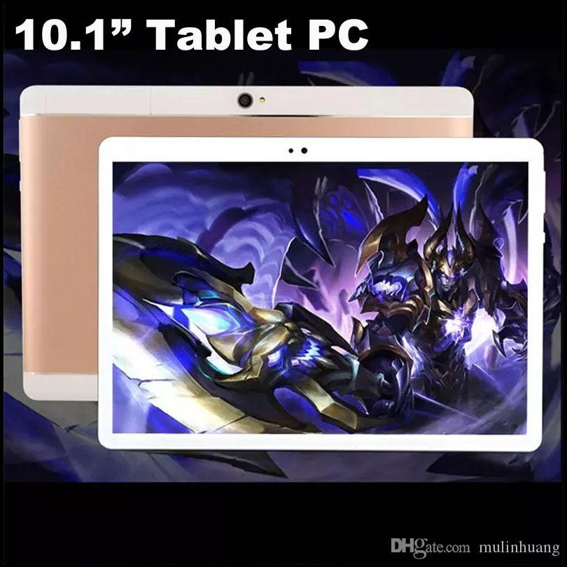 "10 polegada MTK6582 3G WCDMA Octa Núcleo Android 4.4 IPS tela de toque capacitivo Dual Sim telefone tablet pc Phablet WIFI GPS 10 ""10.1 4 GB 64 GB MQ6"
