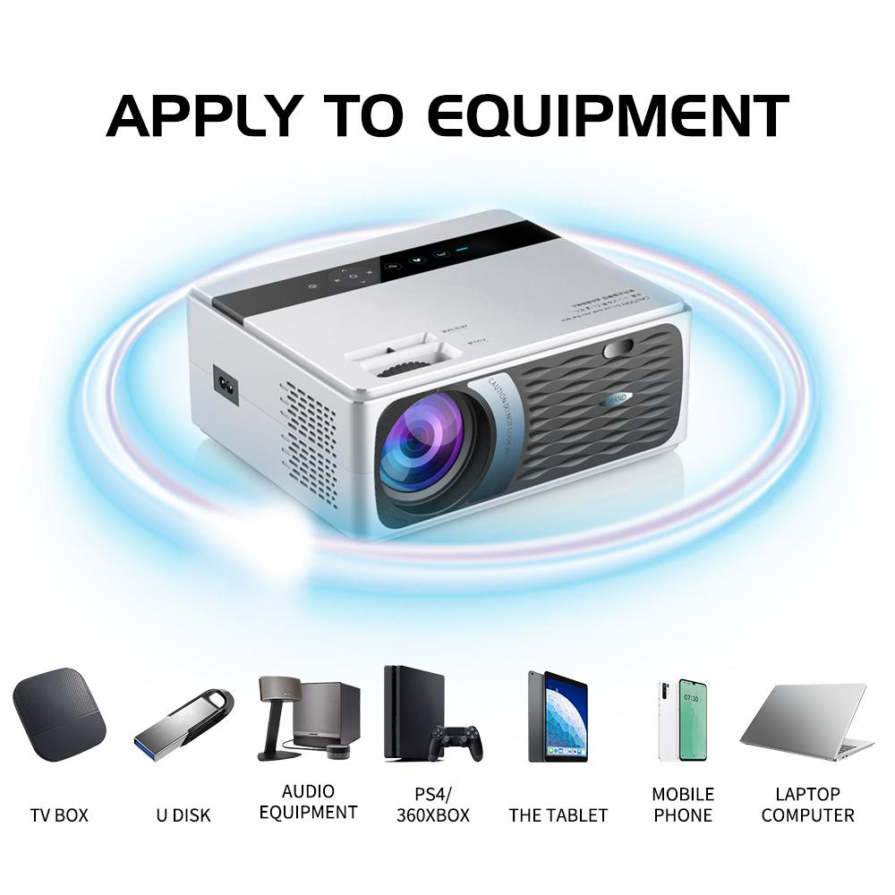Freeshipping UNIC CP600 55W Full HD 1080P Projector 8000 Lumens 200 ANSI for Cinema Proyector Beamer for Android WiFi hdmi VGA AV USB port