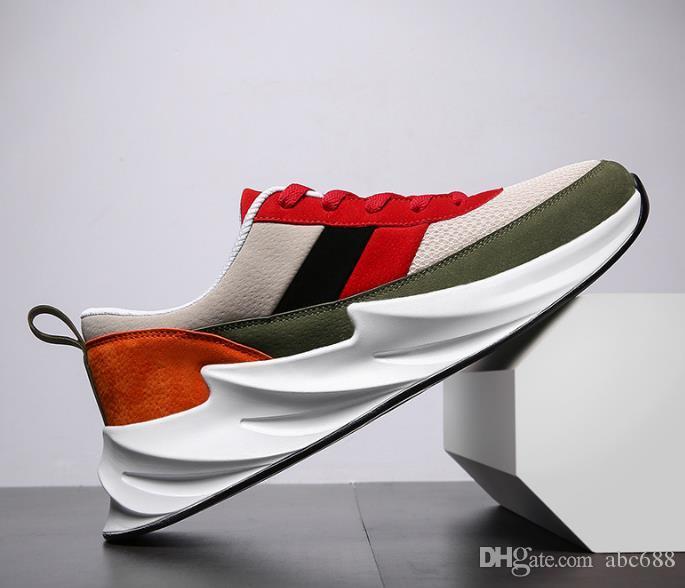 NOVITÀ Scarpe uomo casual Scarpe traspiranti Sneakers basse uomo Cuscino d'aria Scarpe per il tempo libero Scarpe da ginnastica alla caviglia Zapatos De Hombre