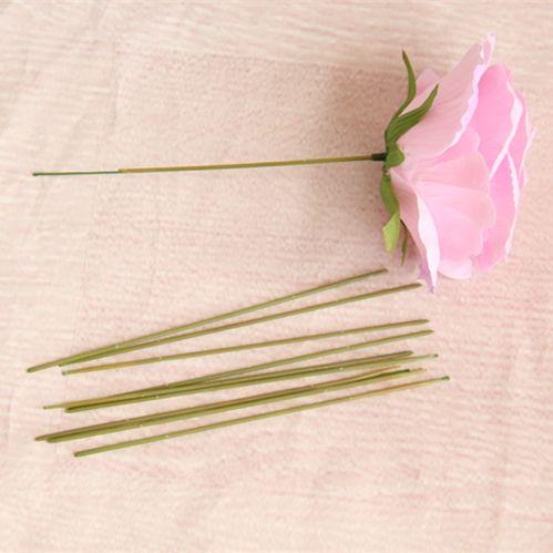 200 stücke 15 cm 17 cm 25 cm 40 cm künstliche rose hyrangea blume stammt diy handgemachte blume hause hochzeitsdekoration