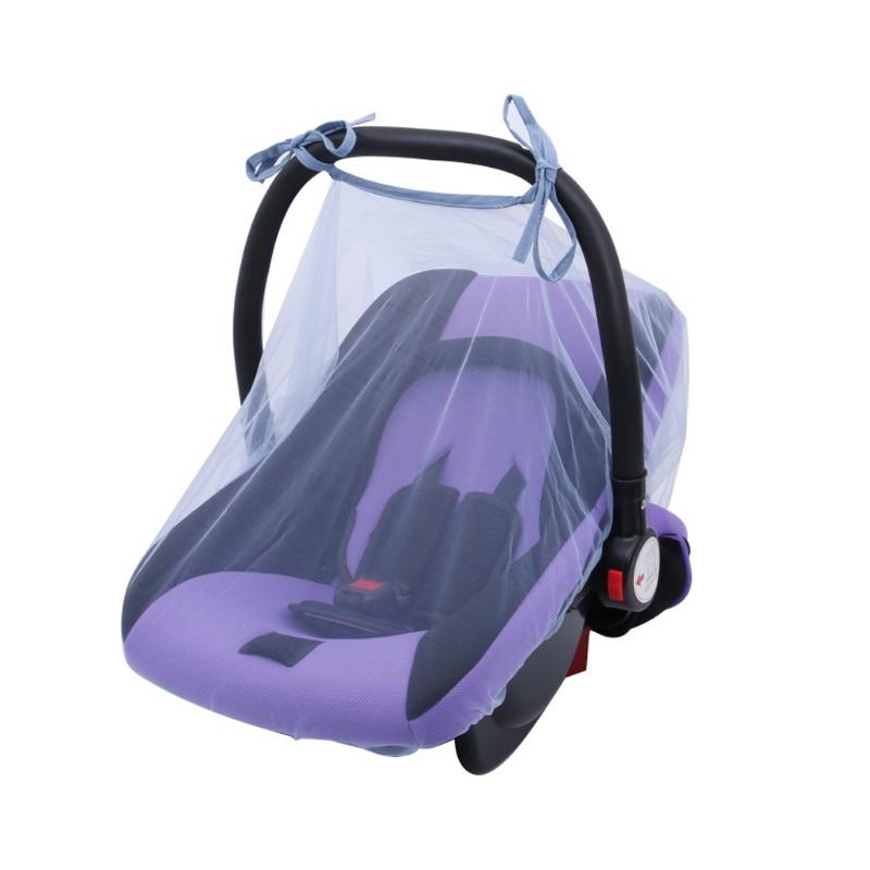 Sillas para niño portavehículos cubierta infantil Mosquitera insecto del insecto protector de la Red DXAD
