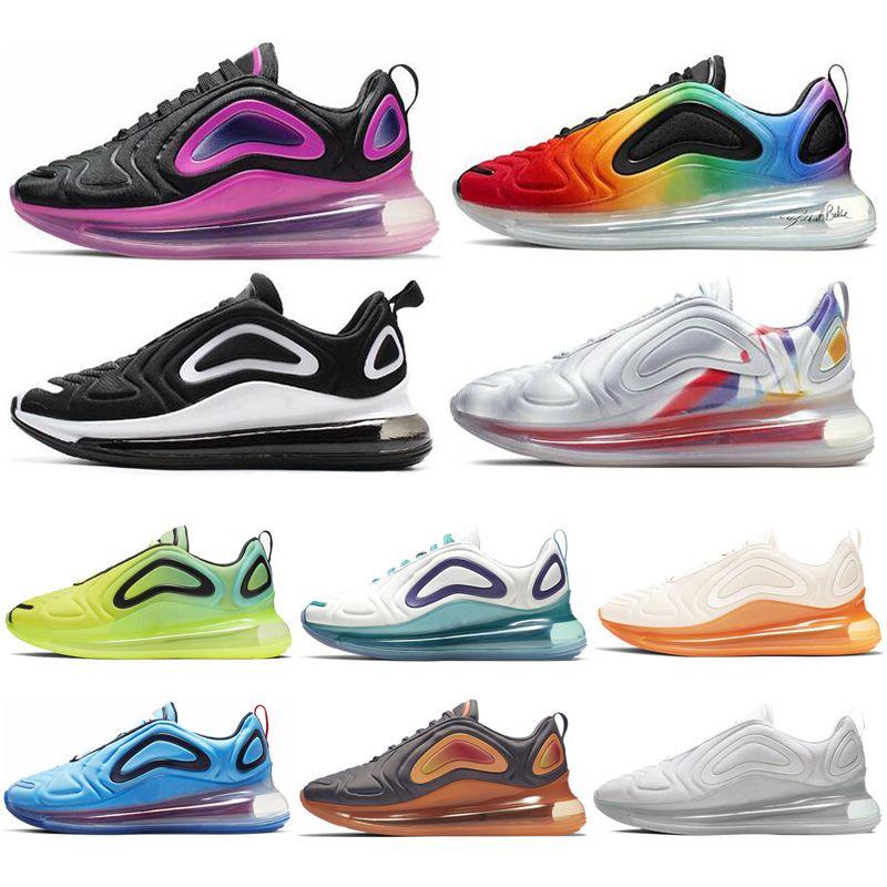 Nike Air Max 720 2019 Nuevos Hombres Zapatos Corrientes BETRUE Pride Spirit  Teal Láser Voltio Mujeres Hombres Entrenadores Deporte Al Aire Libre ...