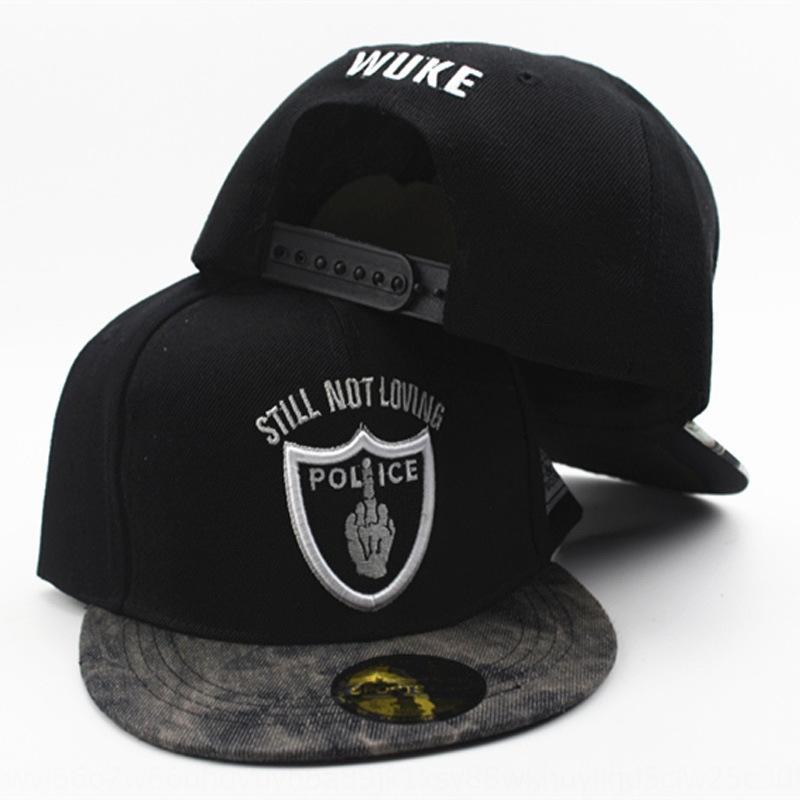 Hip-Hop ricamato maschile Cappello Hatbaseball hatbaseball cappa stradale esterna della protezione di hip-hop delle donne alla moda all'aperto cappello nuovo