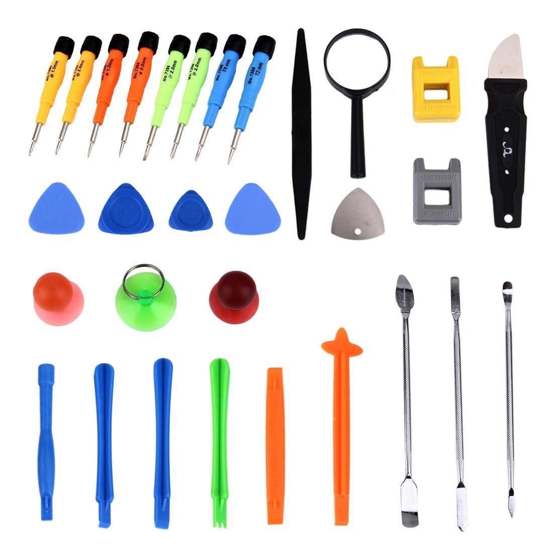 30 in 1 Professionelle Schraubendreher Reparatur Öffnen Tool Kit für Handys