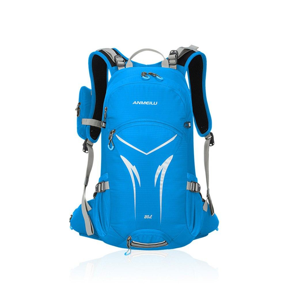 Professional Outdoor Sport Bag Camping Bag Waterproof Shoulder Backpack Potable for Travelling Hiking Running 3 Colors