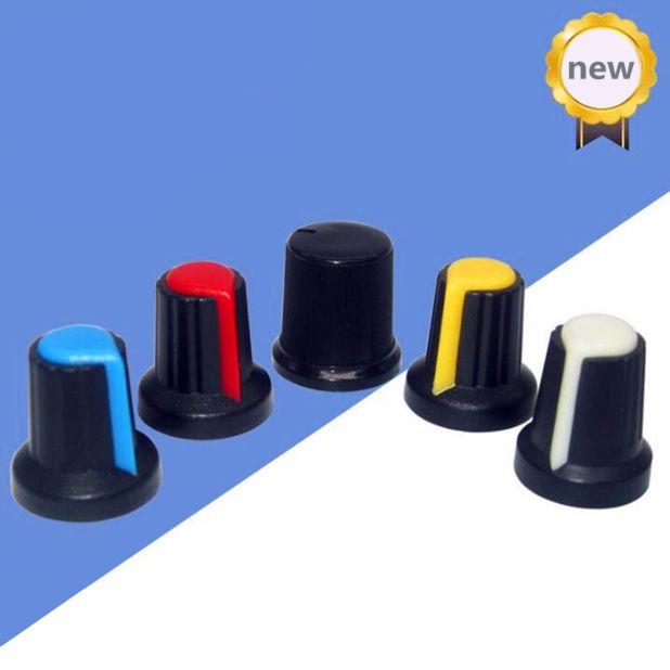 50pcs WH148 perilla / manija del ciruelo / 15mmX17mm AG2 / potenciómetro perilla