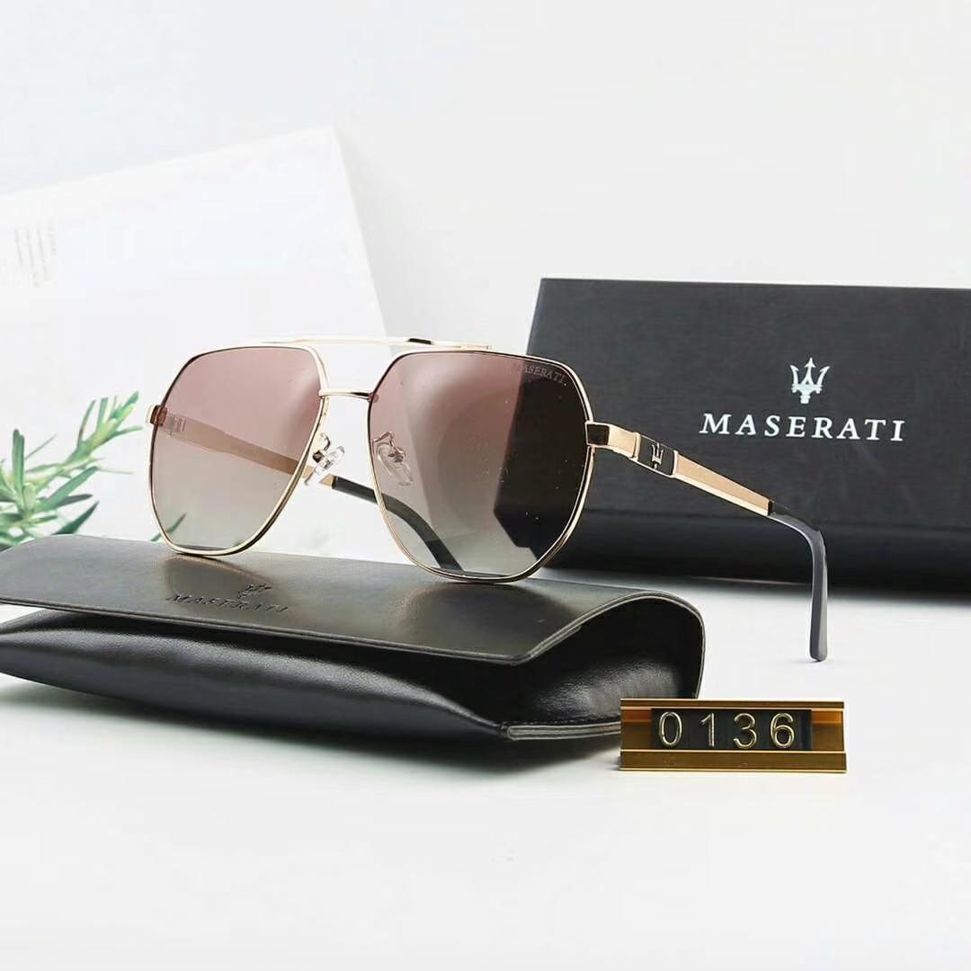 Lüks-Güneş Gözlüğü Tasarımcı Güneş Gözlüğü Marka Güneş Gözlüğü Fashiom Yaz Sunglasse Erkek Cam Marka Logo ile UV400 ve Üstün kalite