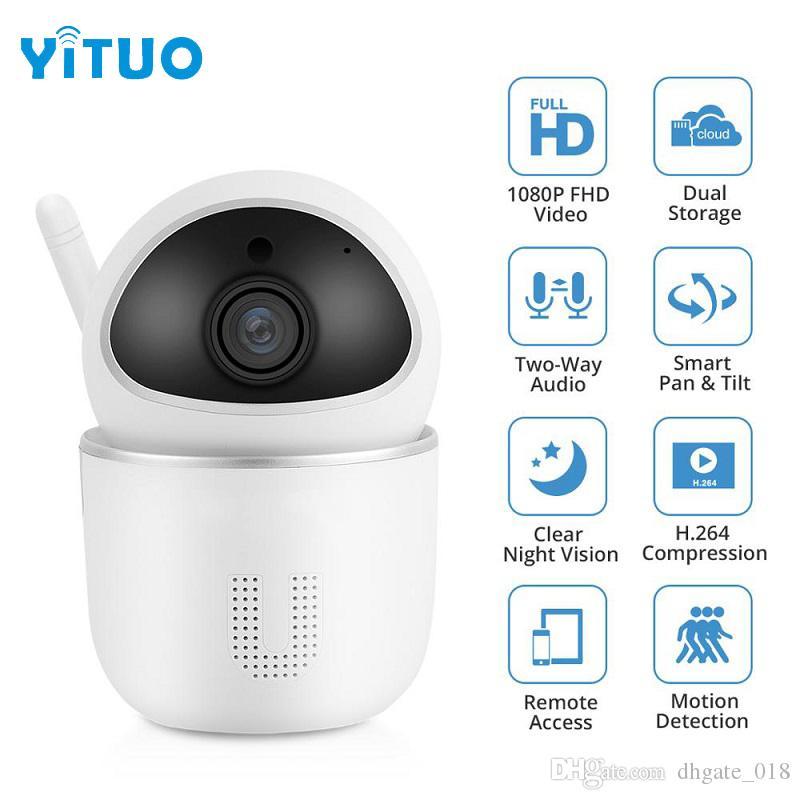 Ev Güvenlik IP Kamera Wi-Fi 1080 P Kablosuz Ağ Kamera CCTV Kamera Gözetim Gece Görüş Bebek Monitörü Kam