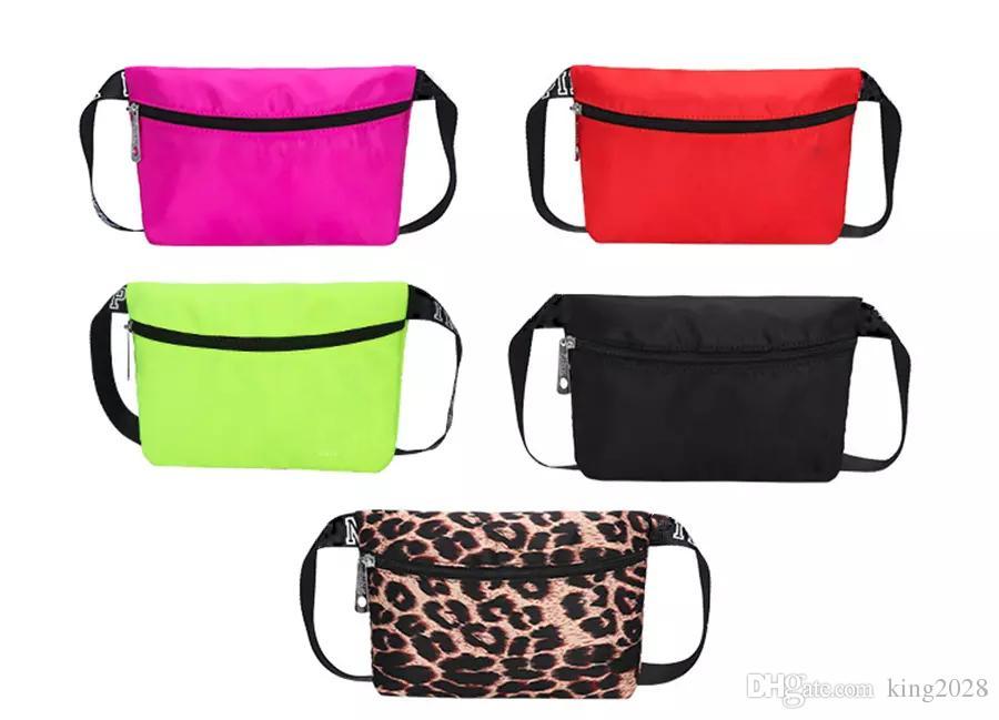 حقائب فاني حزمة رسالة الخصر حزام حقيبة الأزياء شاطئ السفر للماء 11colors حقائب المحافظ في الهواء الطلق حقيبة مستحضرات التجميل.