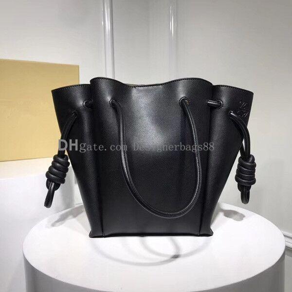 favorite Draw String Bucket bag Shopping bags Handbag Fashion purseReal Leather women bags Ladies Shoulder Messenger bag