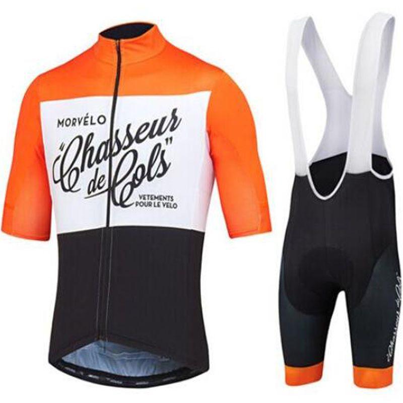 2019 Morvelo Verão Ciclismo Jersey Bib Set Mountain Bike Roupas MTB Roupas de Bicicleta Desgaste Maillot Ropa Ciclismo Homens Ciclismo Set