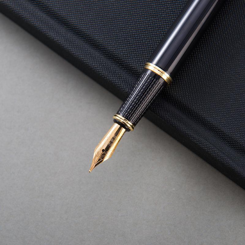 Лидирующий бизнес подарок чернила поглощающих писать гладкий офис подпись металл перо