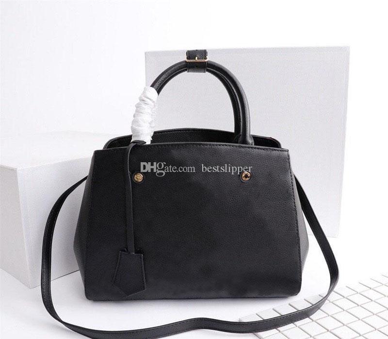 M41046 Hakiki 42746 çanta çanta tote çanta moda çanta kadın Empreinte Monogramlar 41046 M42746 Crossbody Omuz Çantaları Montaigne Leathe Secn