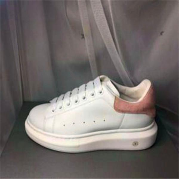 Classic small white shoes leather couple thick bottom with straps casual sports wild cakes men and women shoes GZ099