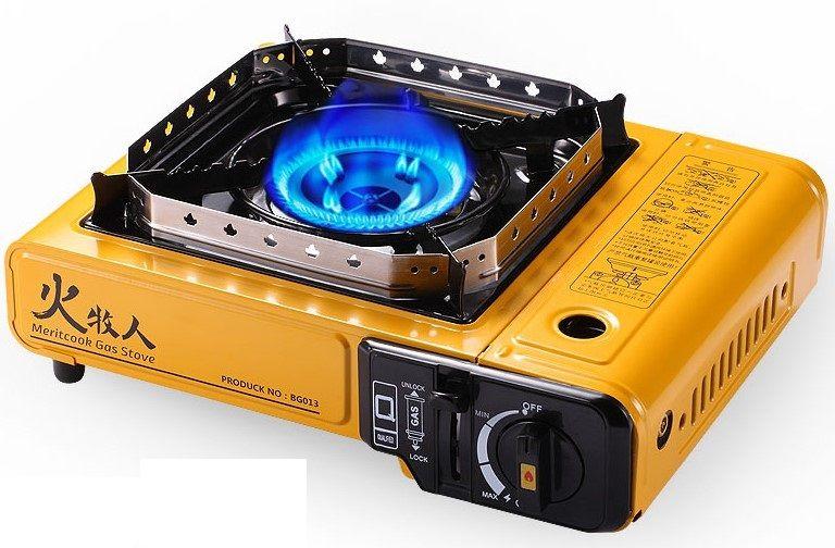 poêle cassette extérieur réchaud domestique à double usage poêle à gaz coupe-vent barbecue pique-nique 014