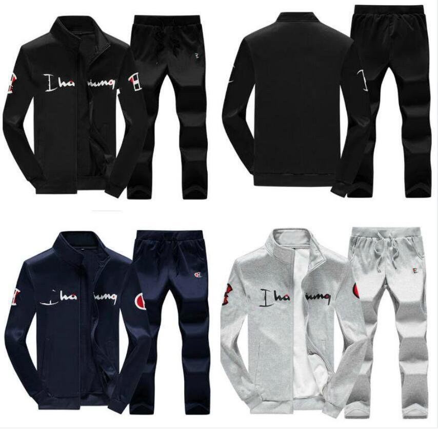 Chándales diseñador de las mujeres del chándal de los hombres de lujo casuales para hombre Trajes de deporte chándales chaqueta del basculador + Pantalones Conjuntos champ juego de los deportes de los hombres