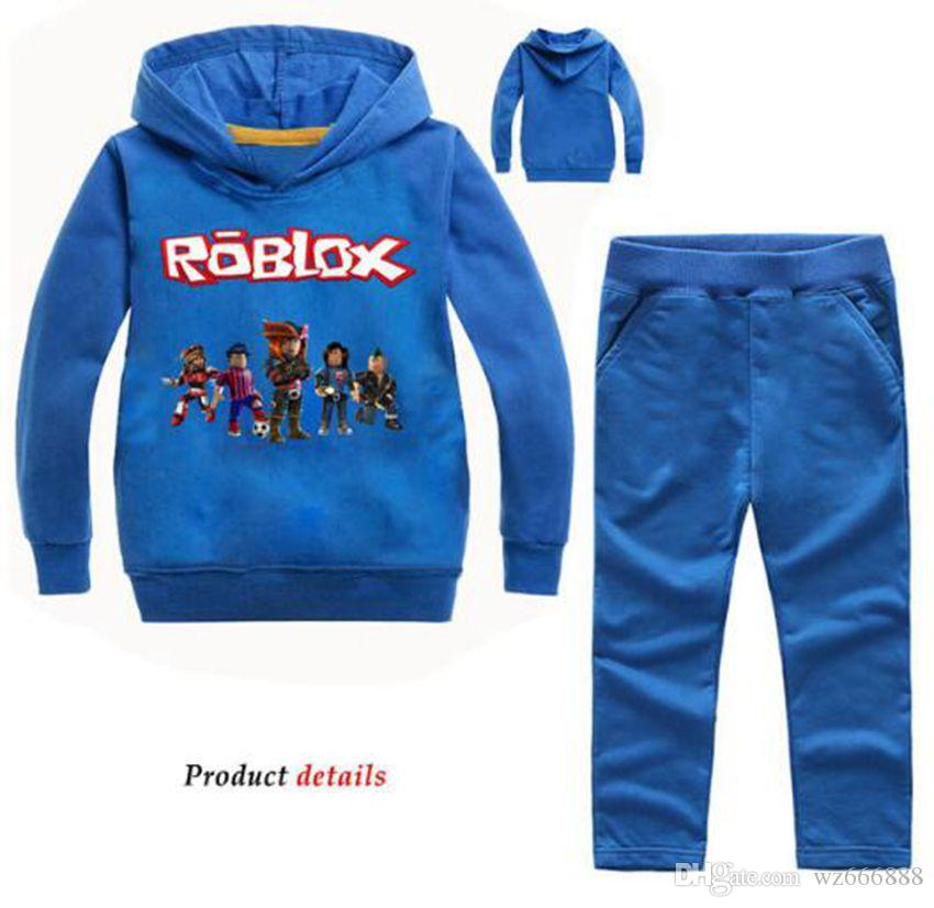 Outfit Roblox Girl Pants 2020 Children Roblox Tracksuit Sport Set Hooded Coat Pants Kids Baby Autumn Clothes Suit Costume Sports Suit For Boy Girls Clothes From Wz666888 16 09 Dhgate Com