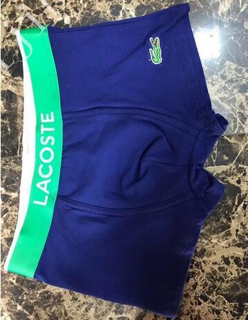 YULAC-P1 2020 Boxer Мужчины хлопок нижнего белья для мужчин Коротких сексуального нижнего белья Casual коротышка дышащего Мужчины Gay Underwearclothes шорты