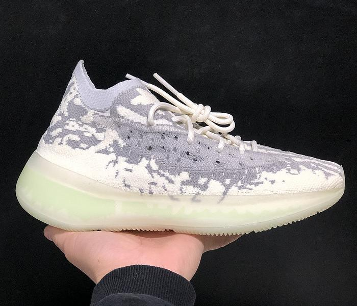 Kanye West Designer Scarpe da corsa 380 Alien Citrin Triple Black White Argilla Beluga donne degli uomini di moda formatori scarpe da tennis US 5-11,5