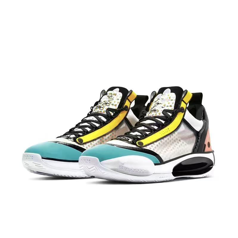 جديد Jumpman XXXIV Low Guo Ailun PE كرة السلة الأحذية مع مربع ساخن 34s
