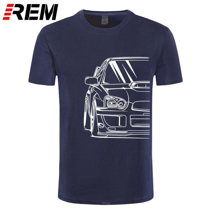 Art und Weise der heißen Verkauf 100% Baumwolle Japanese Classic Car WRX STI | JDM Stimmerauto APPAREL TURBO Subie IMPREZZA AUTOMOTIVE T-SHIRT Y200409