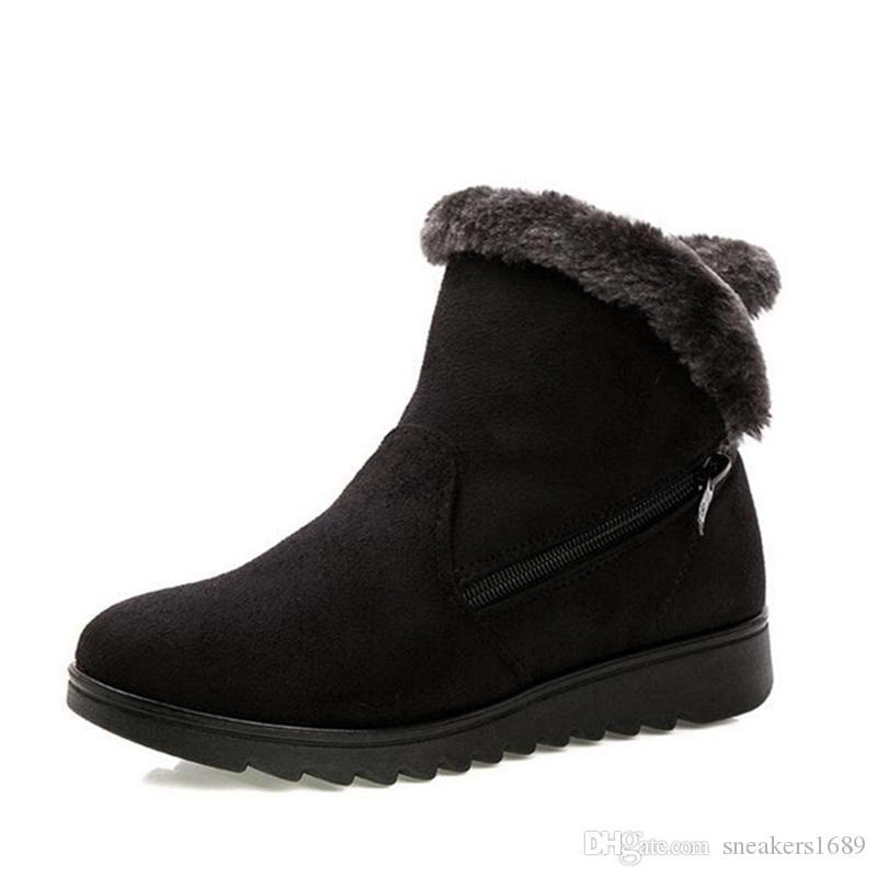 Frauenwinter beschuht die Knöchelaufladungen der Frauen die beiläufigen flachen Frauen der Art und Weise der beiläufigen Art und Weise der Farbe 3 beiläufige heiße Schuhe X05