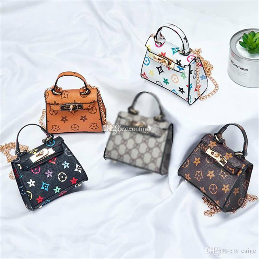 패션 아기 미니 지갑 어깨 가방 청소년 어린이 여자 메신저 가방 새로운 어린이 핸드백 귀여운 크리스마스 선물