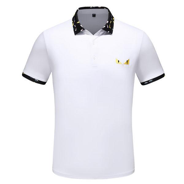 Embroidered luxury Polo shirt men's design T-shirt brand clothing short-sleeved Polo shirt summer luxury high-quality business casual shirt