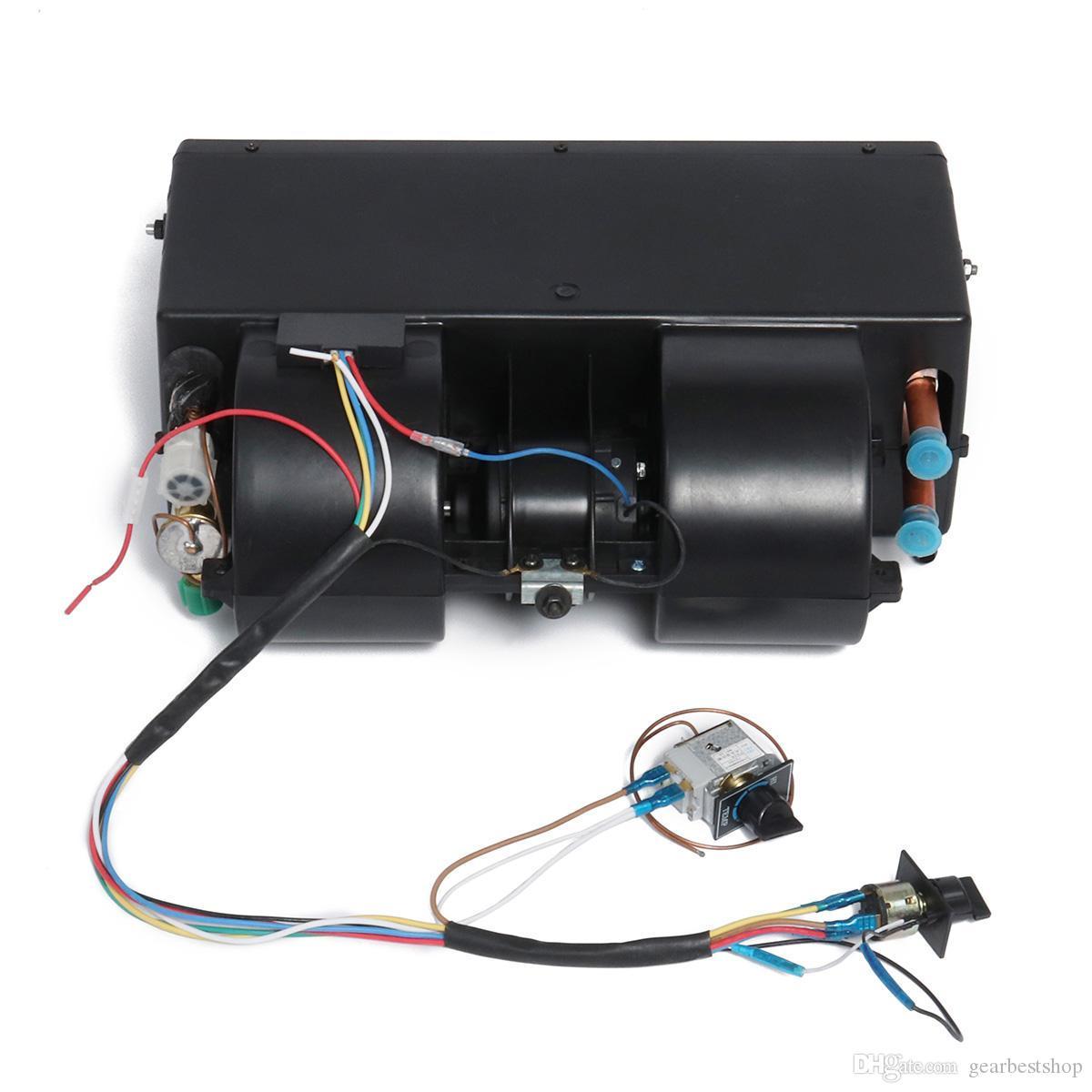 1224V 3800RPM 4 порта Нагреватель Universale Авто Транспортные средства Underdash Предупреждение и Испаритель Охлаждение