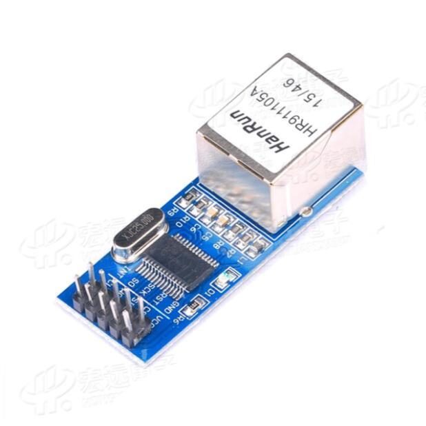 2pcs ENC28J60 network module / SPI interface / Ethernet MCU development board supporting module