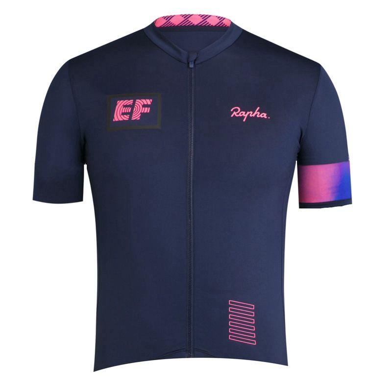 Pro Equipo EF Educación First Cycling Jersey Mens 2021 Verano Quick Dry Mountain Bike Bike Sports Uniform Road Bicycle Tops Ropa de carreras Y21052603