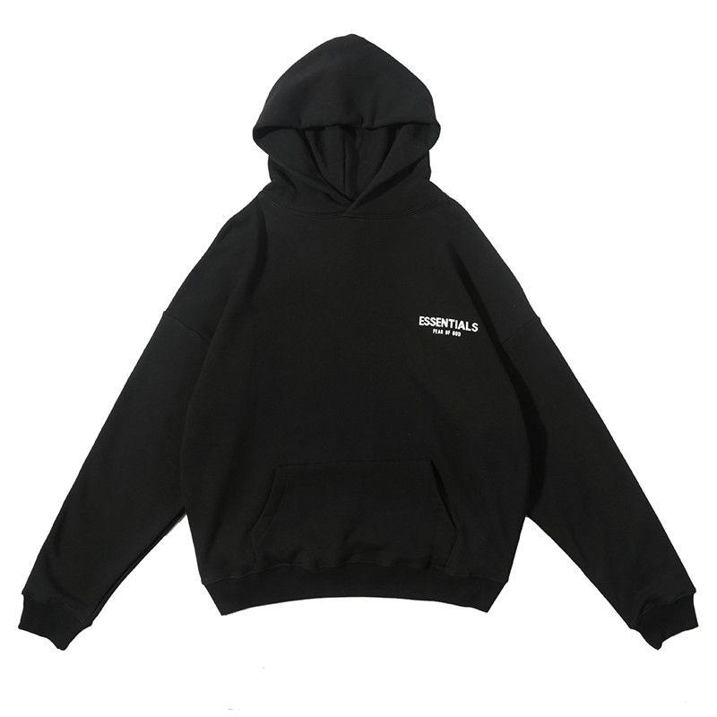 Mens Hoodies Н.Свикл Толстовки Толстовка Мужчины Женщина Толстовка Hip Hop пуловер Streetwear с длинным рукавом черным