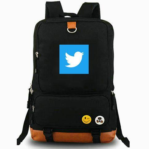 MicroBlog Rucksack Twitter Daypack Serviceunternehmen bester Laptop-Schultasche Freizeitrucksack Sportschultasche Outdoor-Tagesrucksack