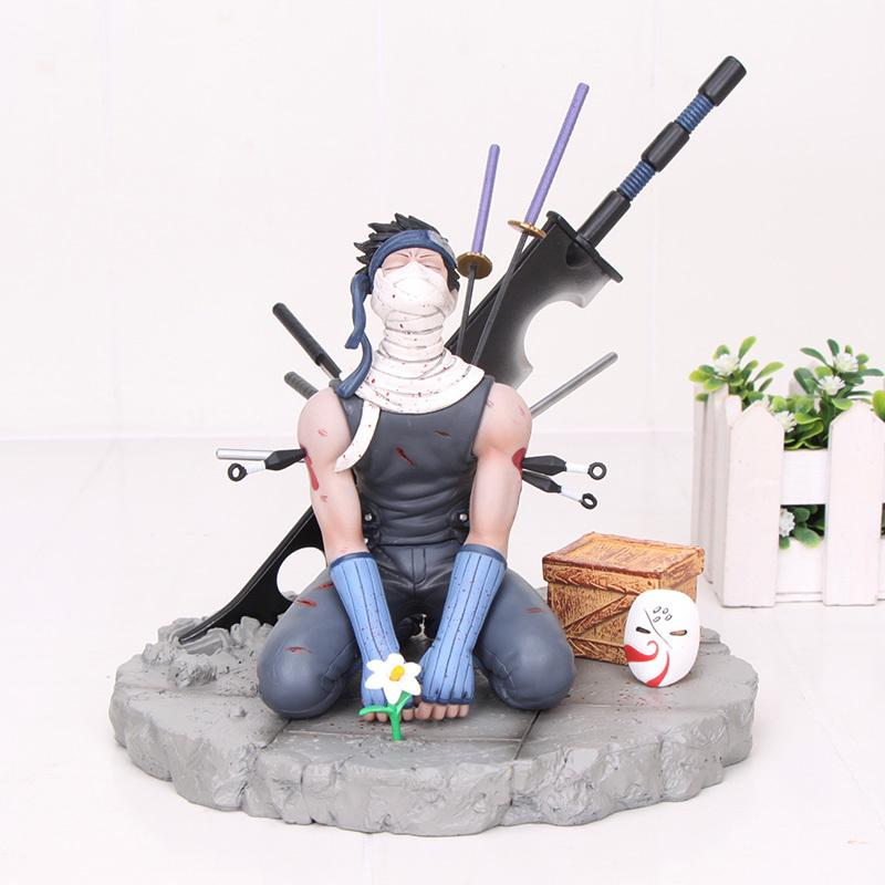 Anime Naruto Momochi Zabuza Kakashi figure MegaHouse gemma Ninkai Taisen Decorazione collezione di giocattoli di modello Y200421