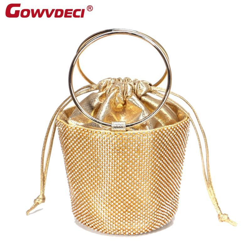 Novo saco venda partido saco jantar strass moda diamante quente
