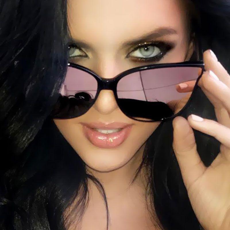 Luxury Flat Top Cat Eye Sunglasses BRAND DESIGN Classic Sunglasses Men Women Driving Square Frame Sun Glasses Male Goggle UV400