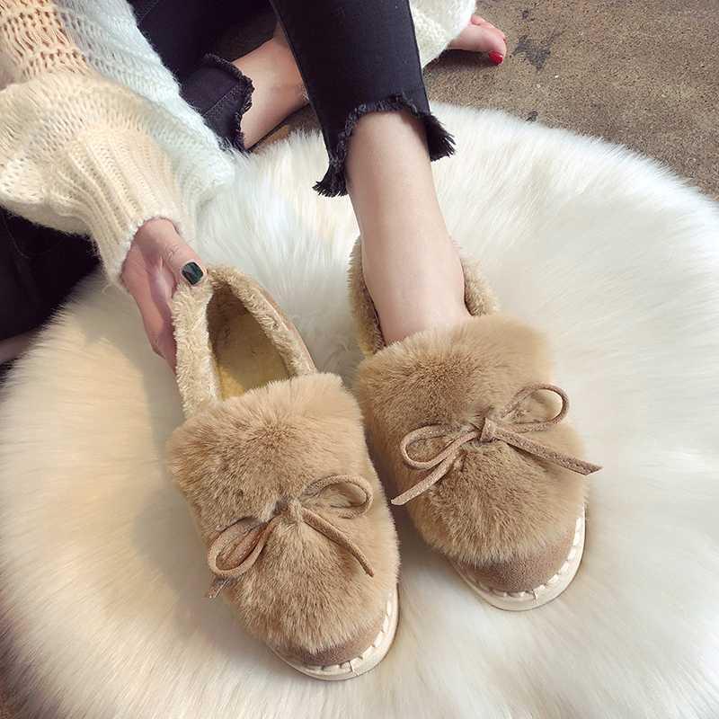 Kadınlar Çizme Su geçirmez Kış Isınma Kürk Bilek Boots Evi Kalın Soled Sıcak Pamuk Ayakkabı Kadın Botaş Mujer Zapatos Chaussur U11-01